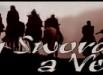 Casellone dedicato a Seven Swords, all\'annuncio che il film aprirà la 62° edizione della Mostra Internazionale d\'Arte Cinematografica di Venezia: immagine tratta da una delle locandine del film [maggio 2005]