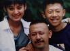 Ning Jing, Jiang Wen, Xia Yu (da sinistra) ai tempi di In the Heat of the Sun
