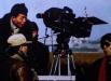 Gu Changwei e Jiang Wen sul set di In the Heat of the Sun