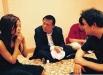 con Zhao Wei e Zhang Yuan
